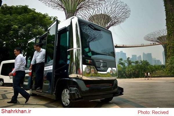 اتوبوسهای خودران یا بدون راننده در سنگاپور راه اندازی می شود+عکس