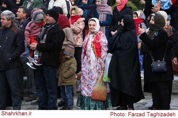 آئین نو اوستی در اردبیل در آخرین چهارشنبه سال