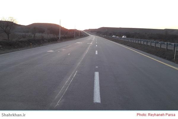 ارتقای ایمنی محورها و خط کشی بیش از هزار کیلومتر از محورهای استان