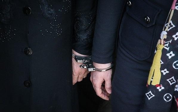 دستگیری زن مجرم